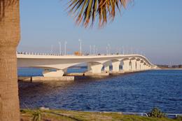 Hathaway Bridge in Panama City, Florida
