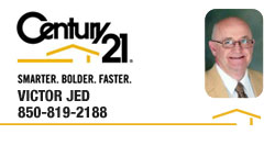 Victor Jed | REALTOR® | Century 21 Commander Realty | Panama City, Florida