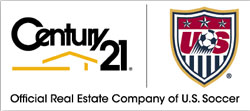 Century 21 is the Official Real Estate Company of U.S. Soccer