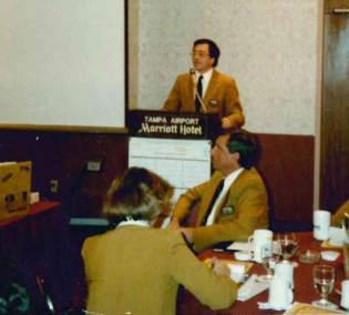 Broker Bob Tenace speaking as the president of the Broward Board of Realtors