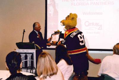CENTURY 21 Tenace Realty Florida Panthers Sponsorship