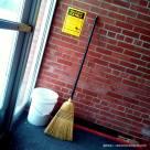 Adakah pintu ke Hogwarts School di sini..?
