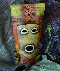 Cloth Mask by Barb Fugazzotto