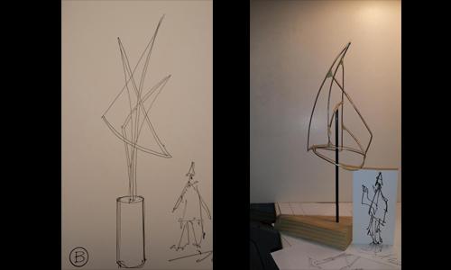 Jack Hillman sketches