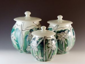 Willow Connery jars