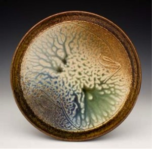 ceramic platter by Richard aerni