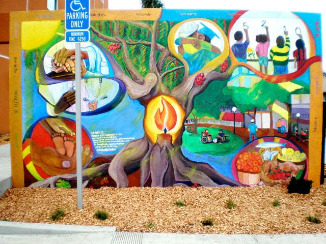 Mural in San Francisco, CA