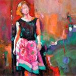 2017-Zagotta,-She-Walks-Alone,-Watercolor-&-Gouache,-19.5x19.5-inches-web
