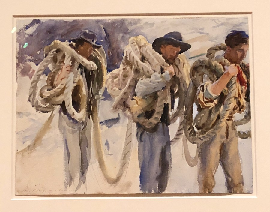 Watercolor painting by John Singer Sargent