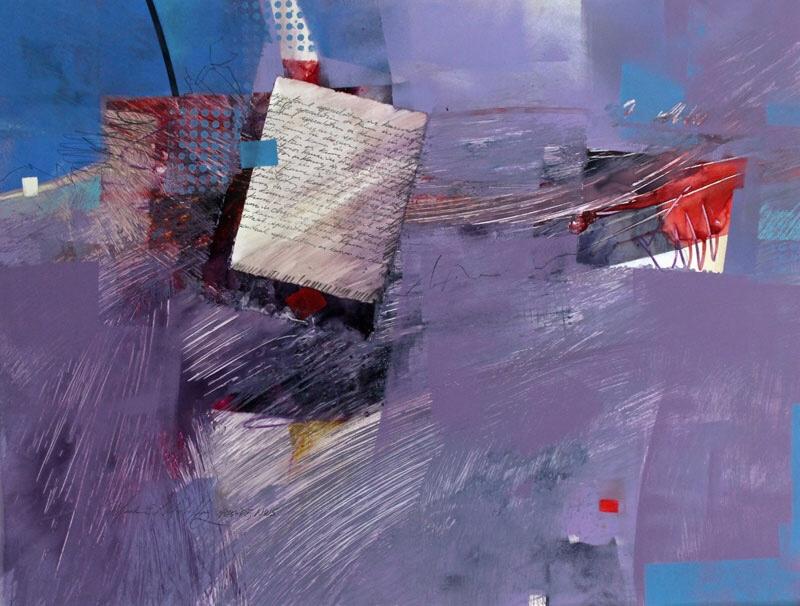 Spiritual Speculation painting by Mark Mehaffey