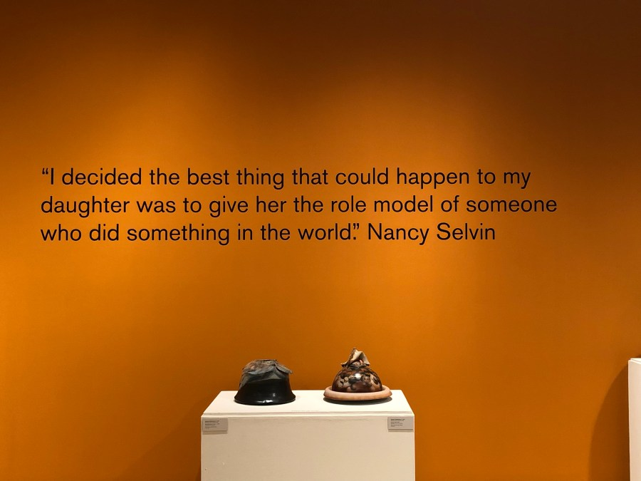 Quote at the ASU ceramic art center