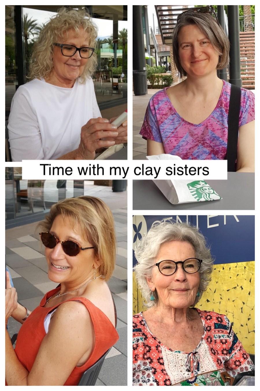 Victoria Hamilton, Janet Zadra, Beverly Norton Walker