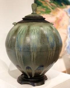 Covered Jar by Richard Aerni