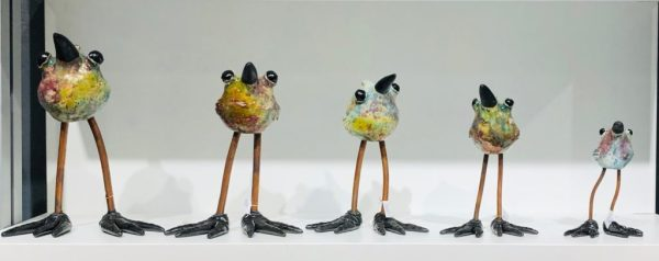 Tonya Rund ceramic birds