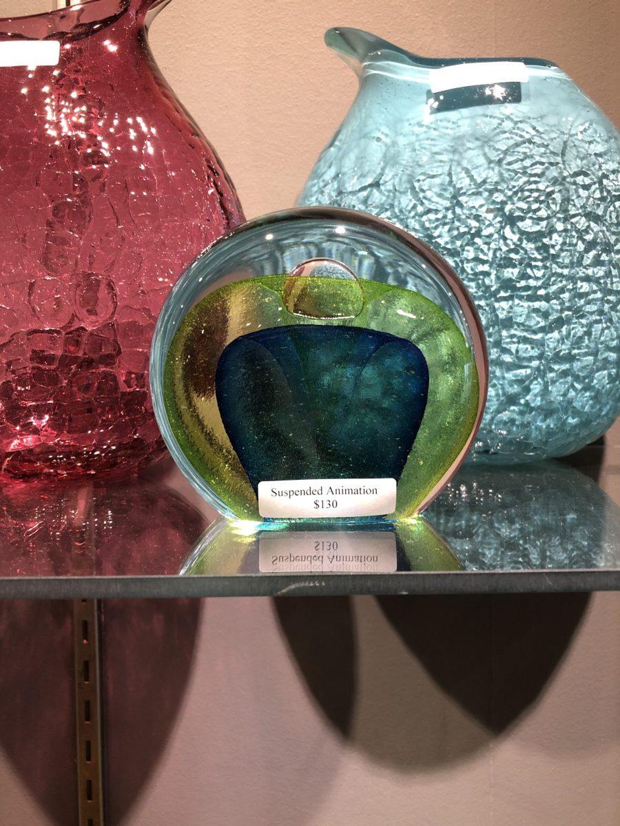 Art glass sculpture by matthew paskiet