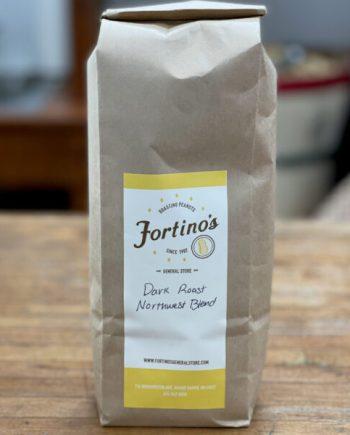 dark roast northwest blend fortinos coffee beans