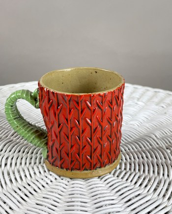 handmade ceramic cup by cory mccrory