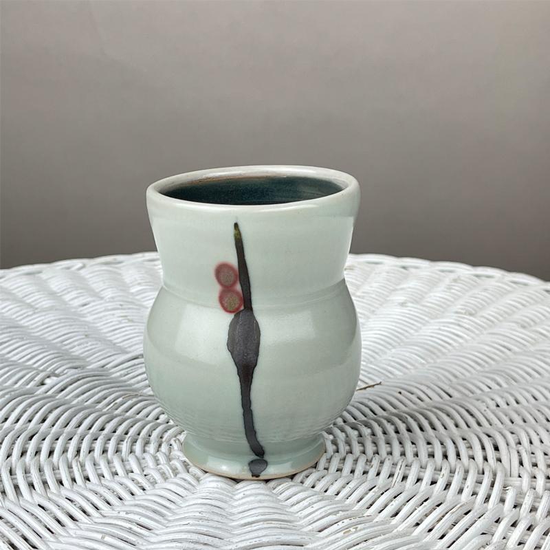 handmade ceramic cup by julie devers
