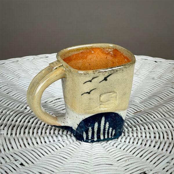 handmade ceramic mug by cyndi casemier