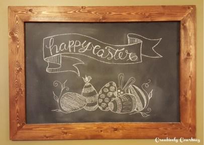 Chalkboard Art -Easter