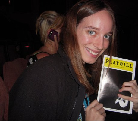 The 1st time I saw the show was in NYC, 5 yrs ago.