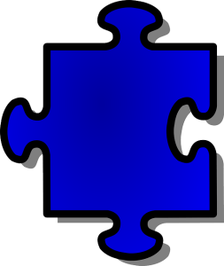Blue Puzzle Piece, C2C Resources