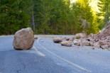 Boulder in the road