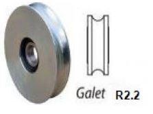 Galet inox R2.2