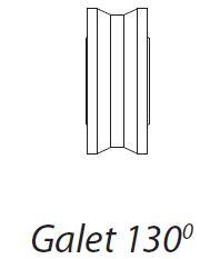 Galet polyamide 130°