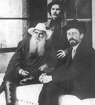 Tolstoi-Gorky-Chekov