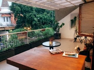 Balcony to unwind