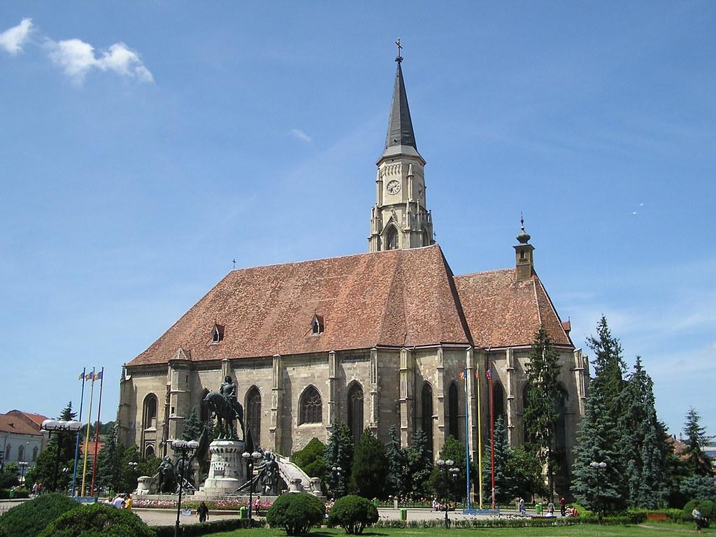 Rumania Iglesia de San Miguel Cluj Napoca 04
