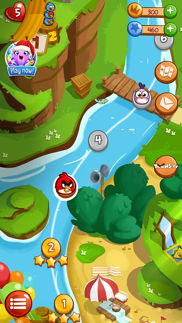 angry birds blast review map