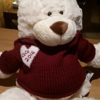 A Very Tiny Post about a Very Tiny Sweater (with a very long name) - the Super Simple Buddy Balls Bear Sweater