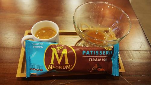 Magnum Tiramisu Afogatto Maxx Coffee
