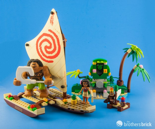 LEGO Disney 41150 Moana's Ocean Voyage [Review] | The Brothers Brick ...
