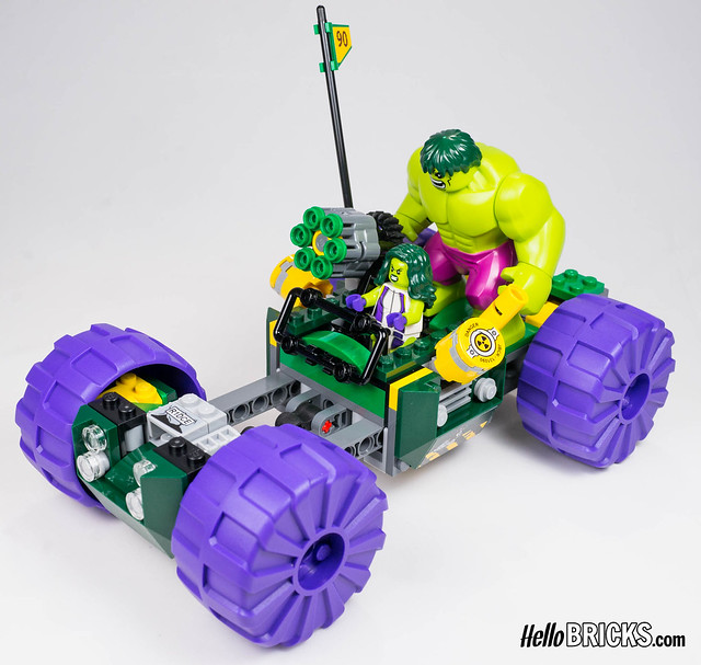 Lego 76078 - Marvel - Hulk vs Red Hulk