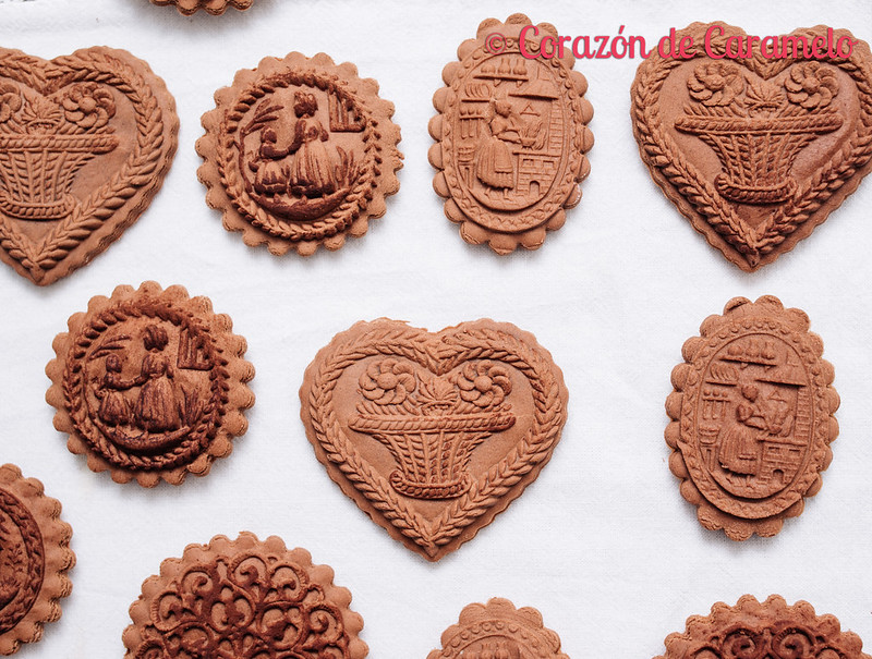 Galletas Springerle de Chocolate