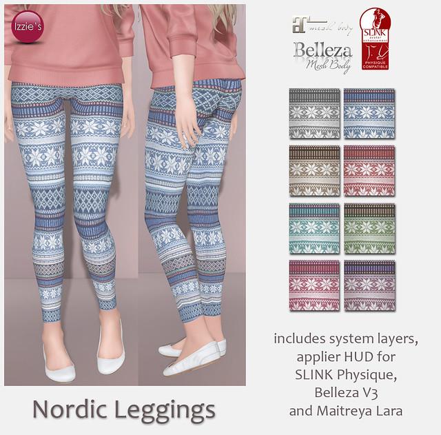 Nordic Leggings (for FLF)