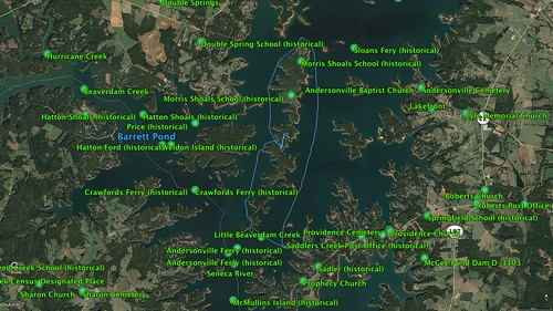 Andersonville Island Route