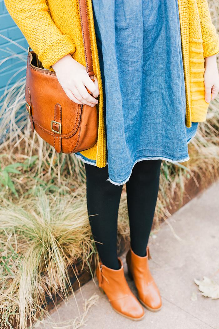 austin style blogger asos smock dress yellow sweater16