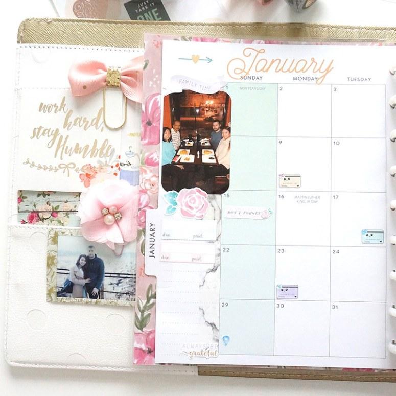 My 2017 Planner