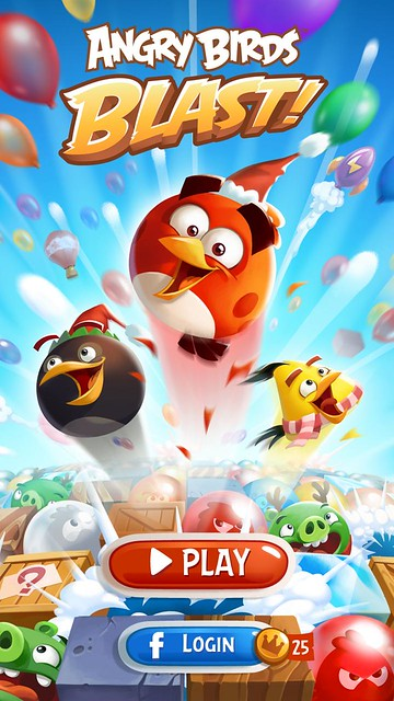 angry birds blast review main