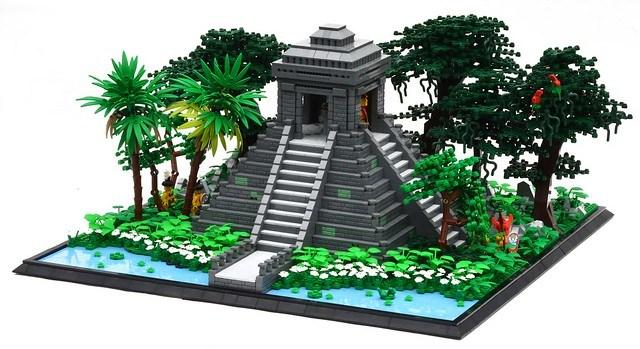 Jungle Temple - Pyramide maya