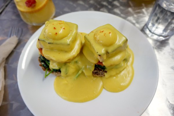 Public Kitchen Eggs Benedict | thelittleredspoon.com
