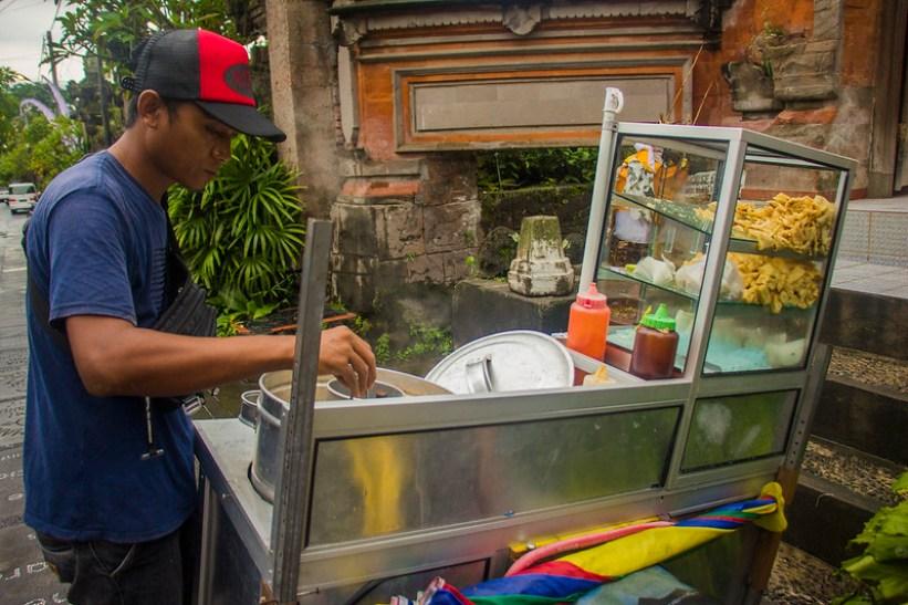 Street food i Ubud