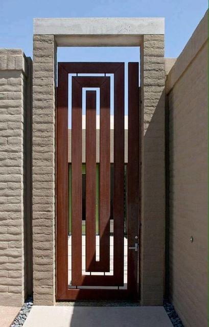 Stunning contemporary gate design ideas