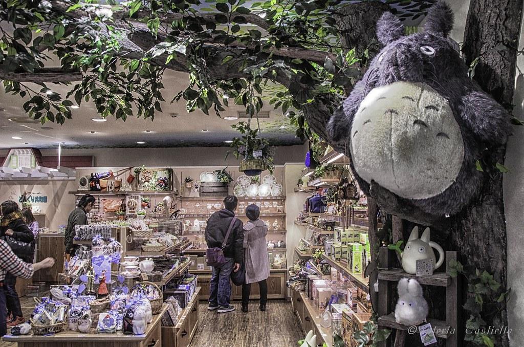Totoro Shop in Character Street, Tokyo
