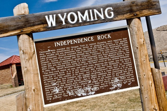 Independence Rock - Wyoming