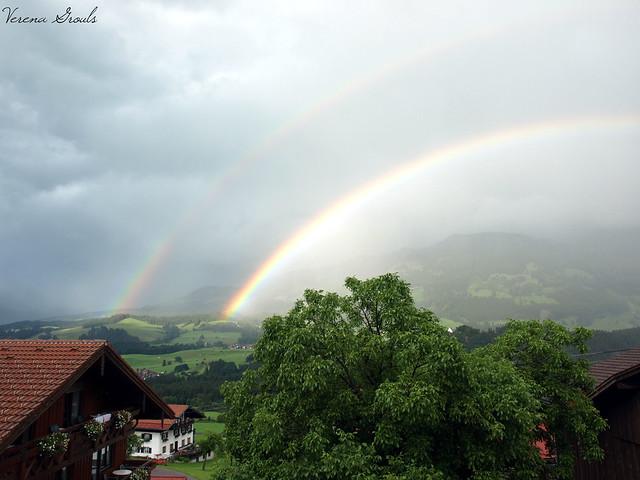 Regenbogen in Fischen/Allgäu (2009)